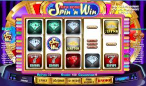 Triple Bonus Spin'n Win