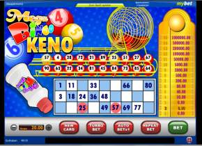 Mega Bingo Keno