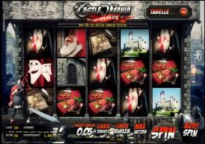 Castle Mania ein neuer 3D Merkur-Slot