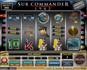 Sub Commander 1942