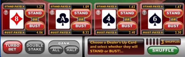 Blackjack Stand or Bust online spielen