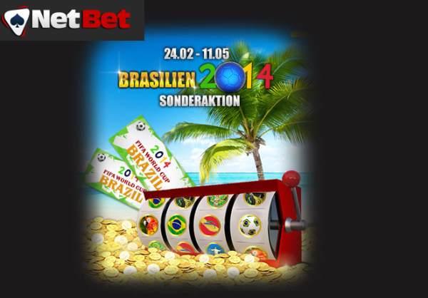 Mit NetBet Casino zur WM nach Brasilien