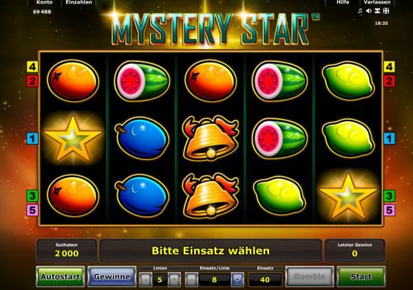 Mystery Star online spielen