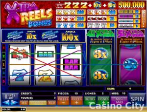 xtra bonus reels online