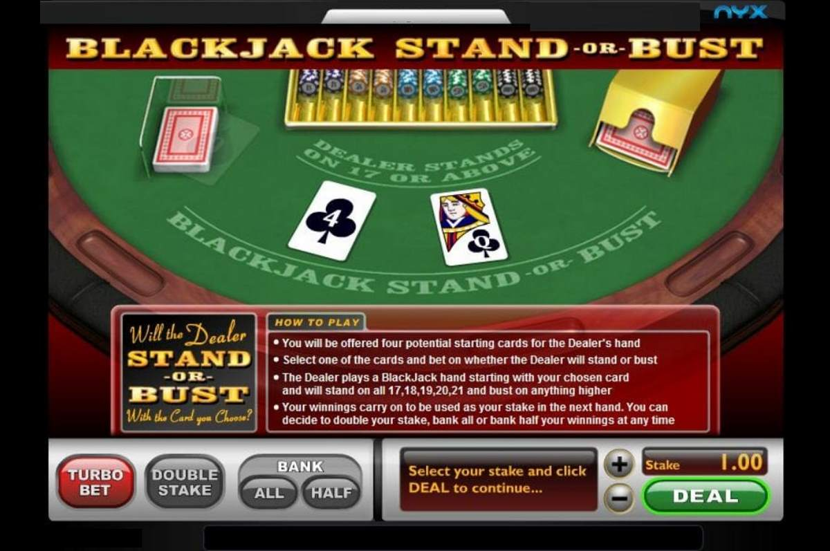 BlackJack Stand or bust