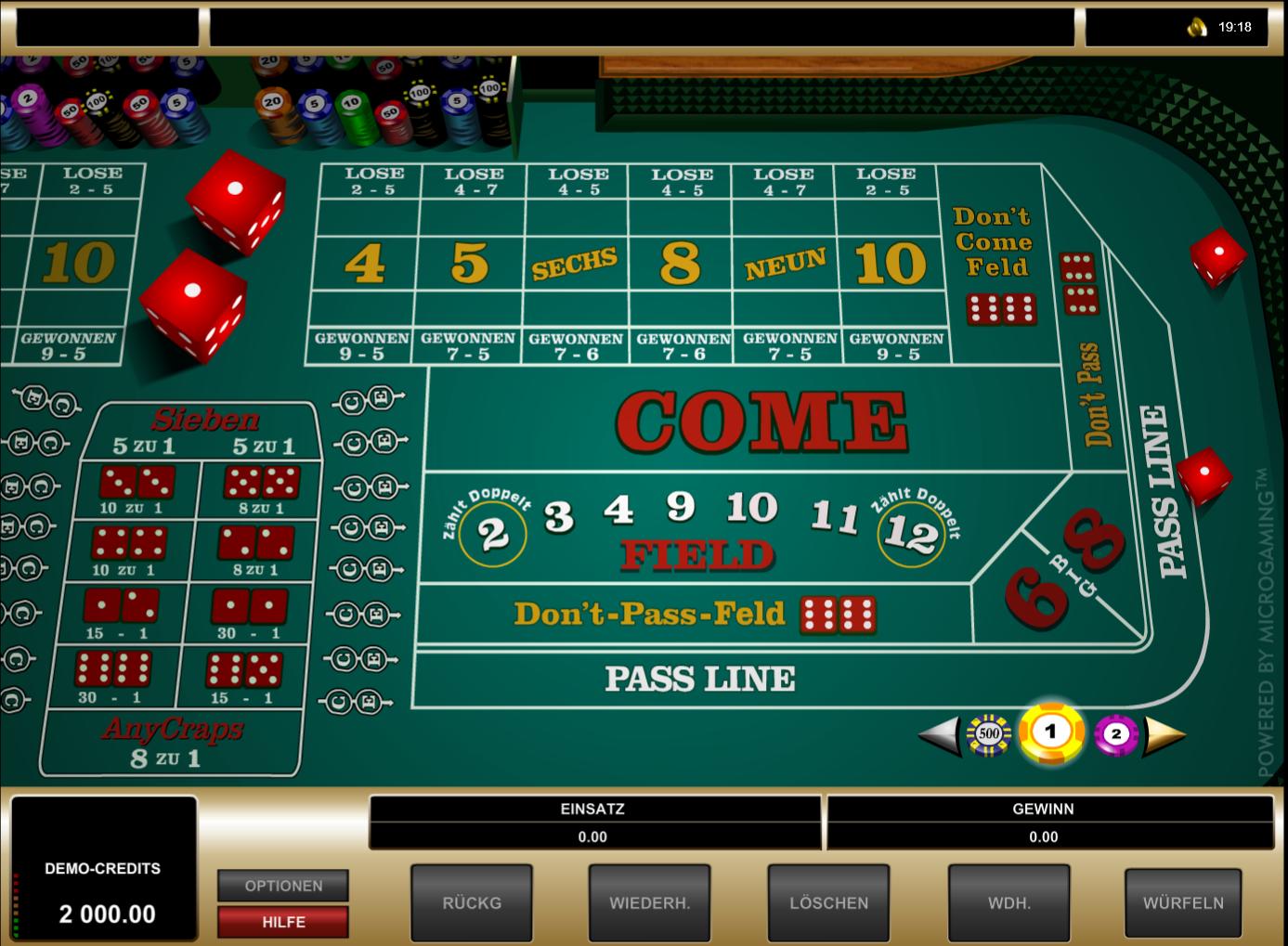 Online Casino Spielgeld Modus