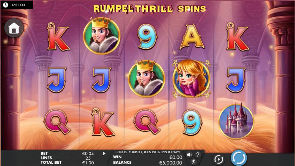 Rumpel Thrill Spin kostenlos spielen