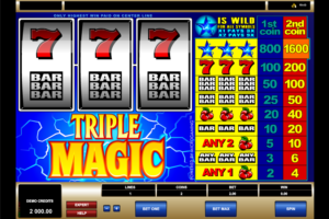 triple magic online