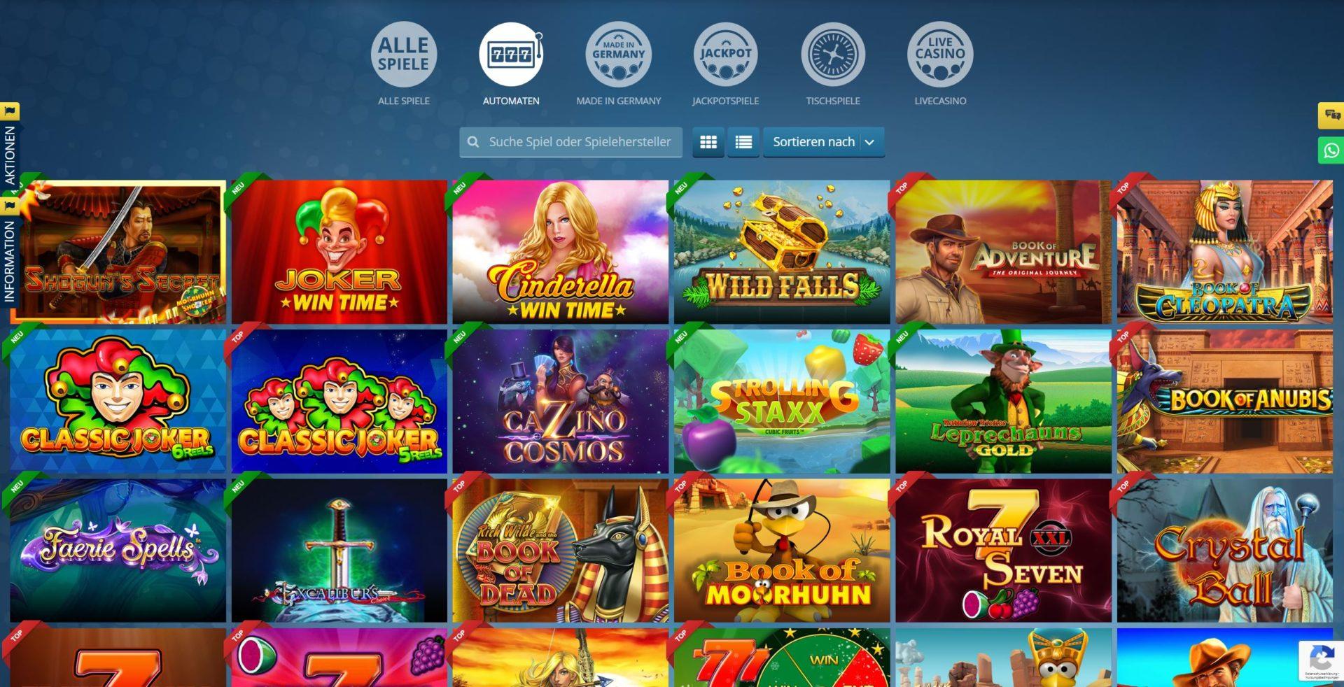 Spielgeld Casino Merkur