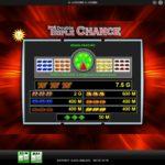 triple chance auszahlung