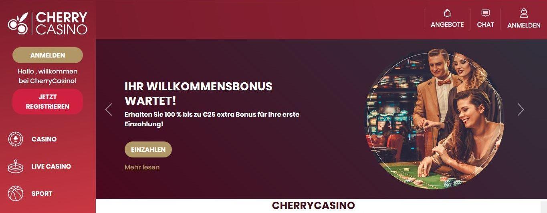 CherryCasino Anmeldung