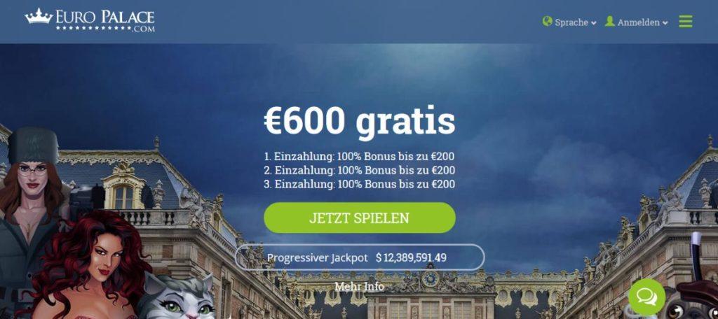 Euro Palace Bonus