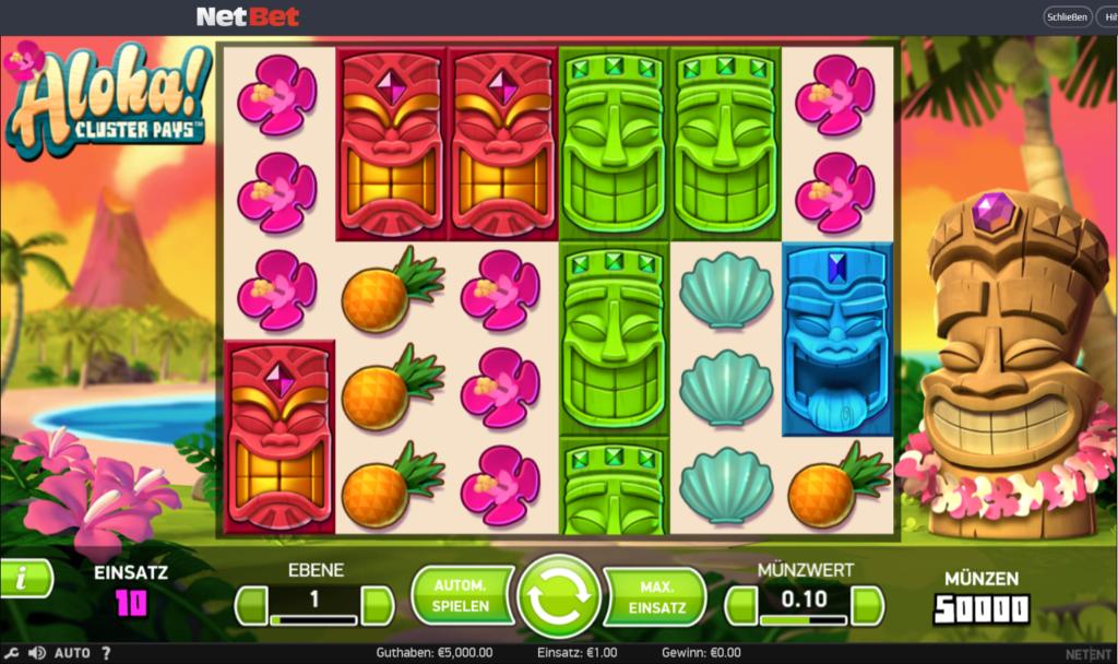 Aloha! Cluster Plays - der hawaiianische Spielautomat 1