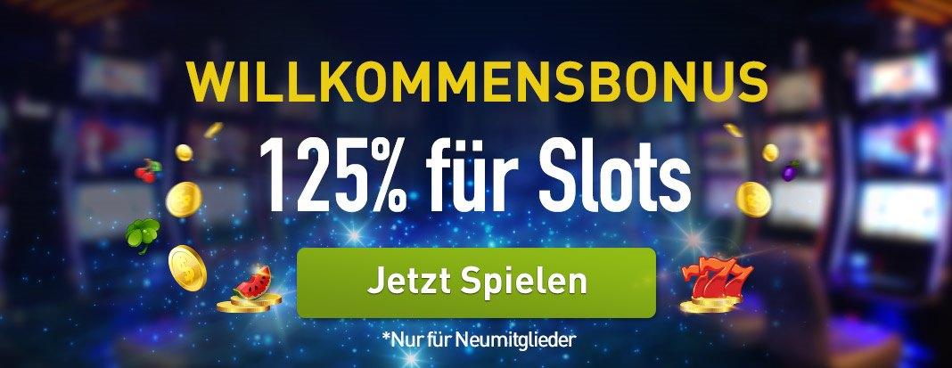 CasinoClub Willkommenbonus Slots