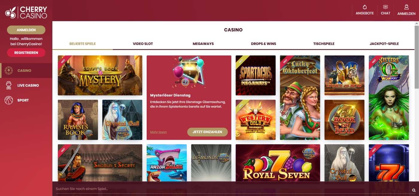 Cherry Casino Angebot