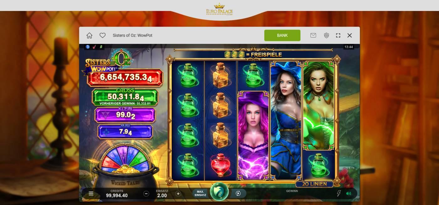 Euro Palace kostenlos spielen