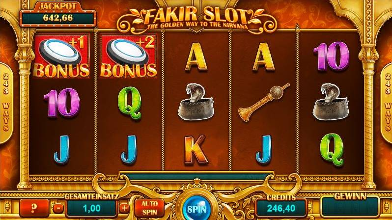 Fakir Slot Jackpot