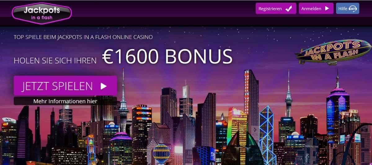 Casino Jackpots In A Flash