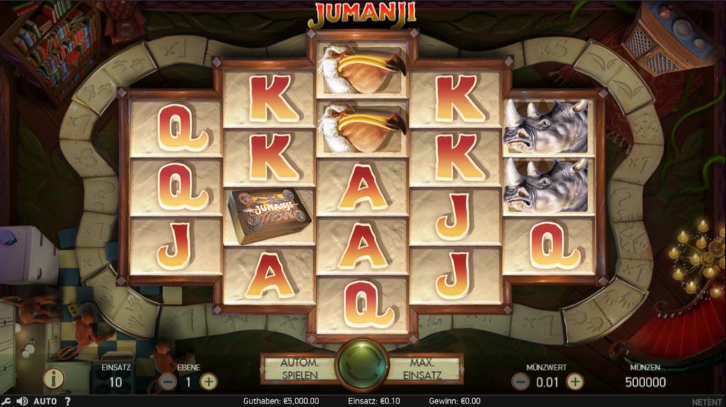 Jumanji kostenlos spielen