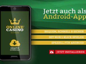 Onlinecasino deutschland App
