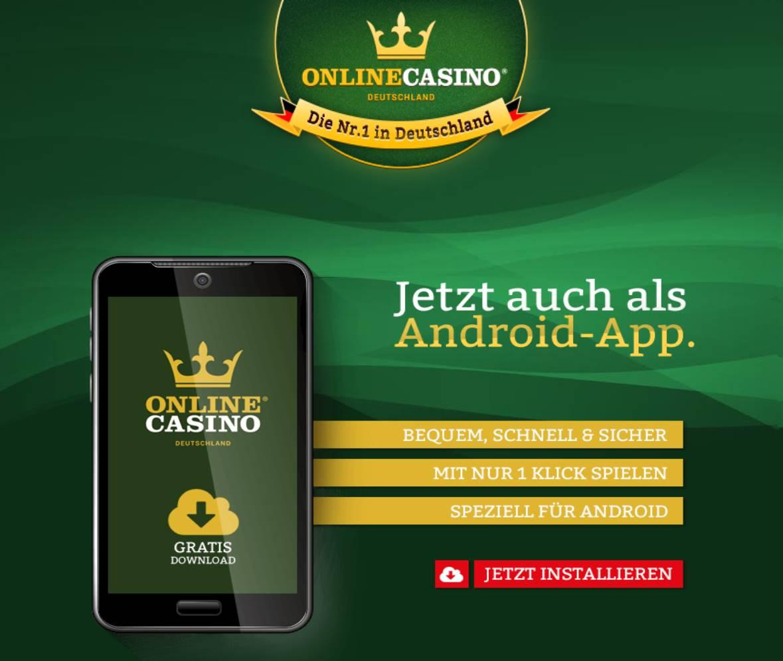 Onlinecasino deutschland MobileApp