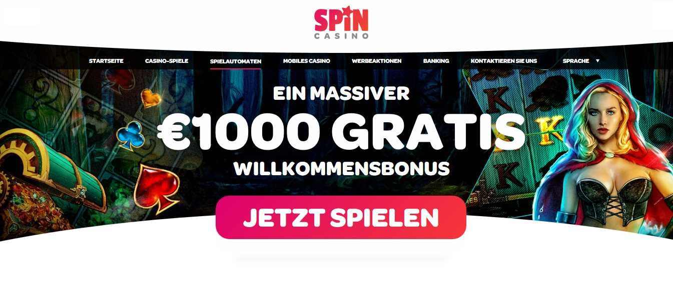 Spin Casino Automatenspiel