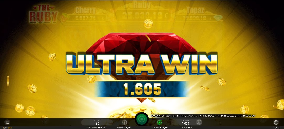 The Ruby Ultra Win