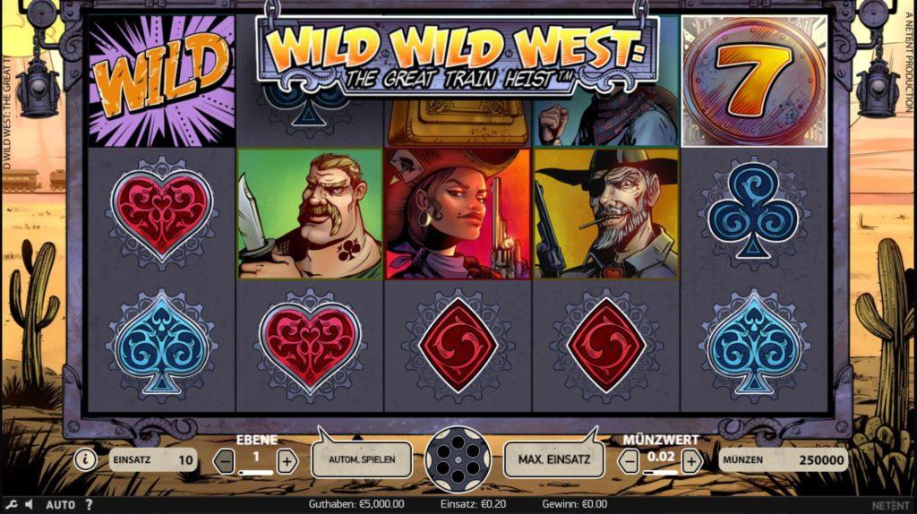 Wild Wild West kostenlos spielen