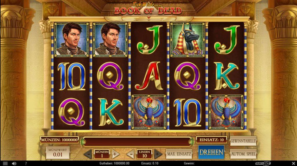 Book Of Dead Touch Casino-Spiel Bei Wunderino Online-Casino