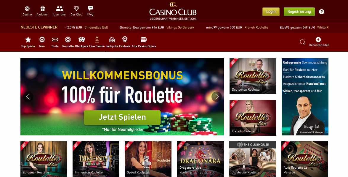 casinoclub livecasino