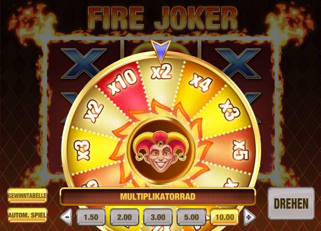multiplikator fire joker