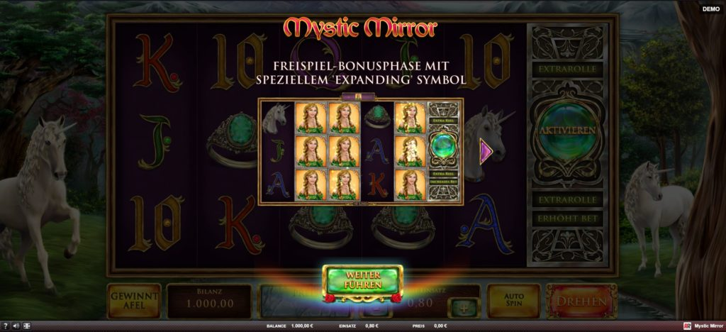 mystic mirror kostenlos spielen