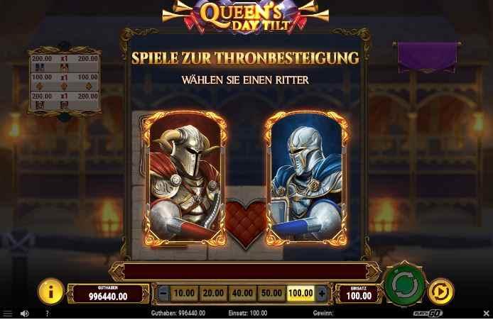queens day tilt thronbesteigung