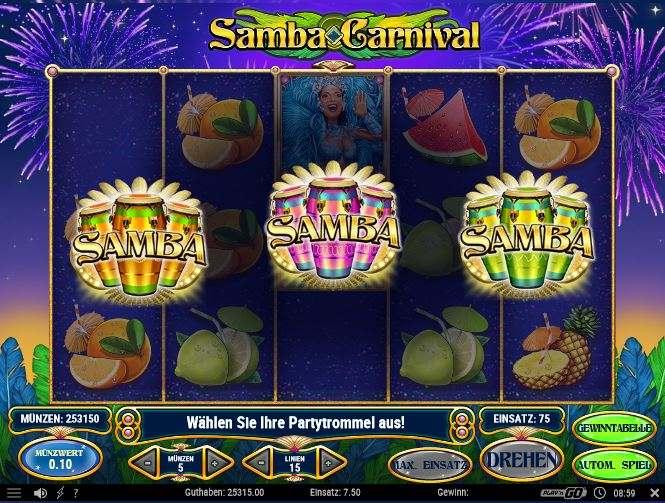samba carnival partytrommel