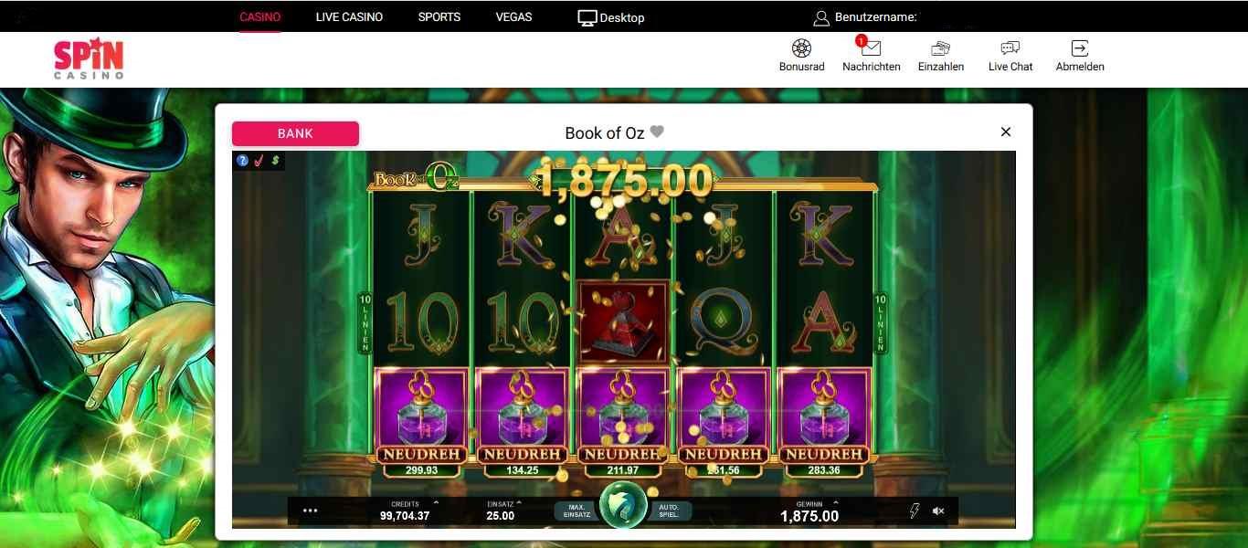 Spin Casino 1