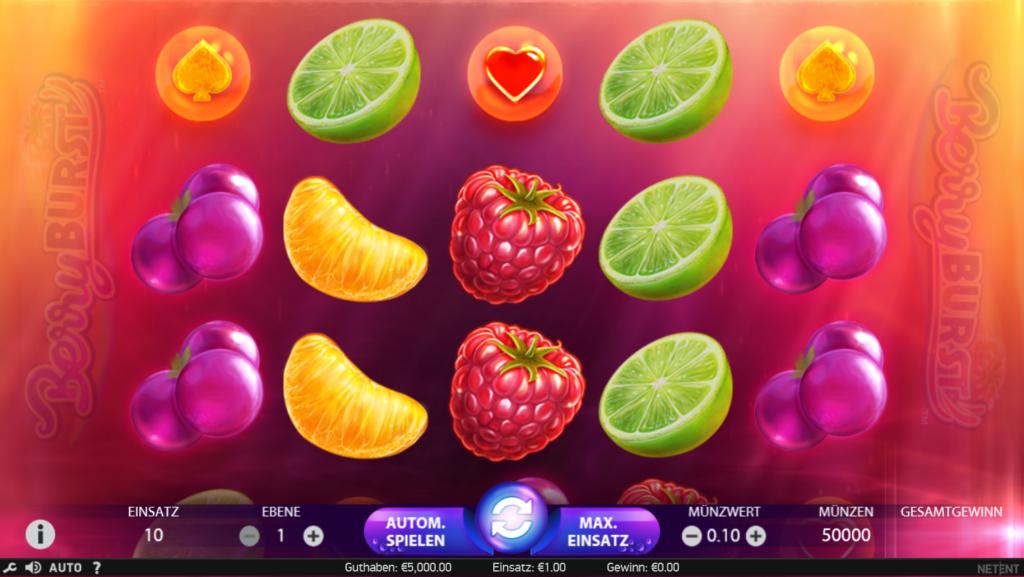 Berryburst kosenlos spielen