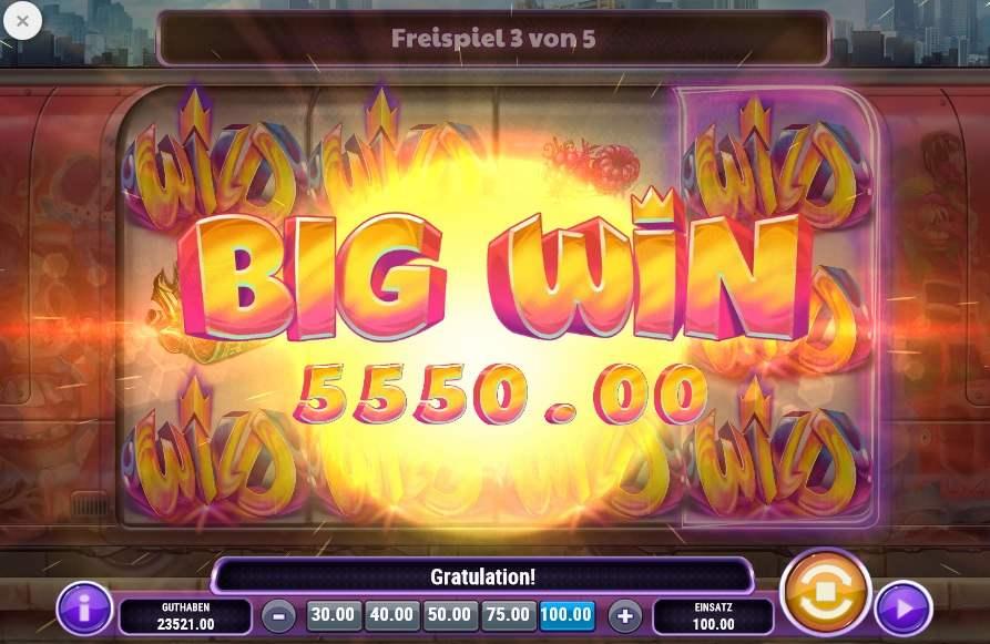 Cash Vandal Big Win