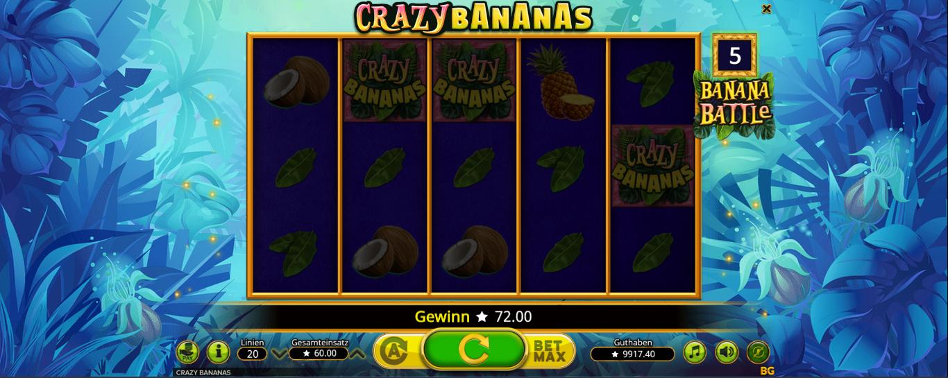 CrazyBananas kostenlos testen