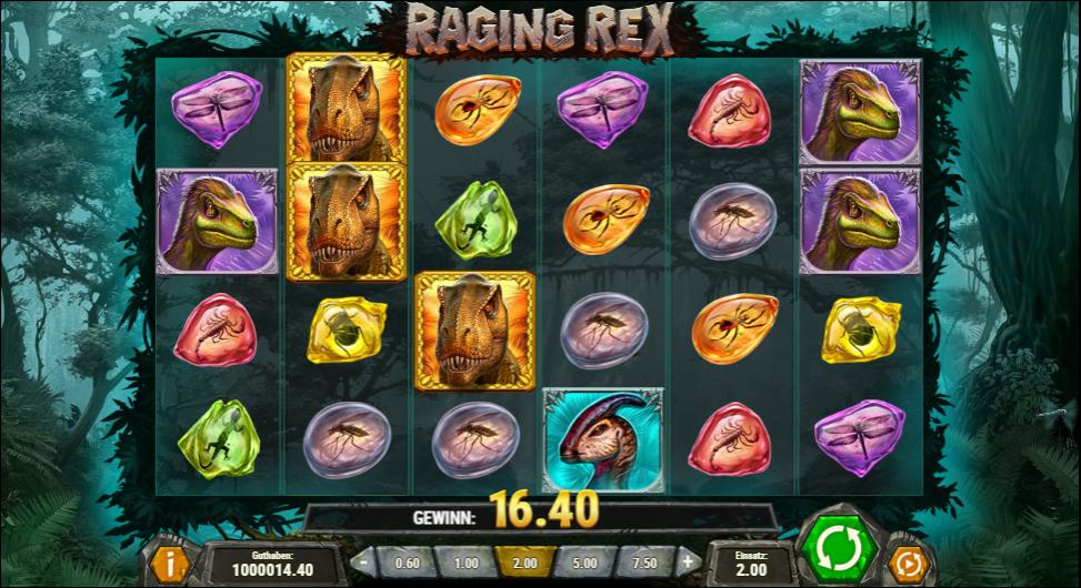 RagingRex kostenlos spielen