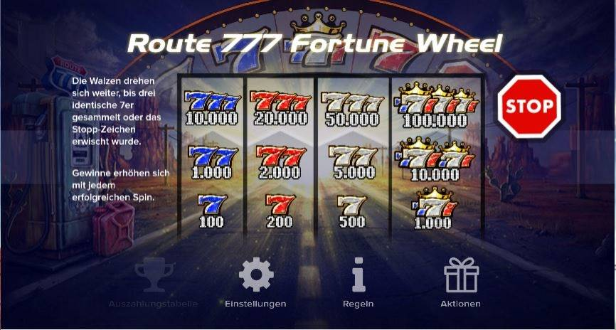 Route 777 Fortune Wheel