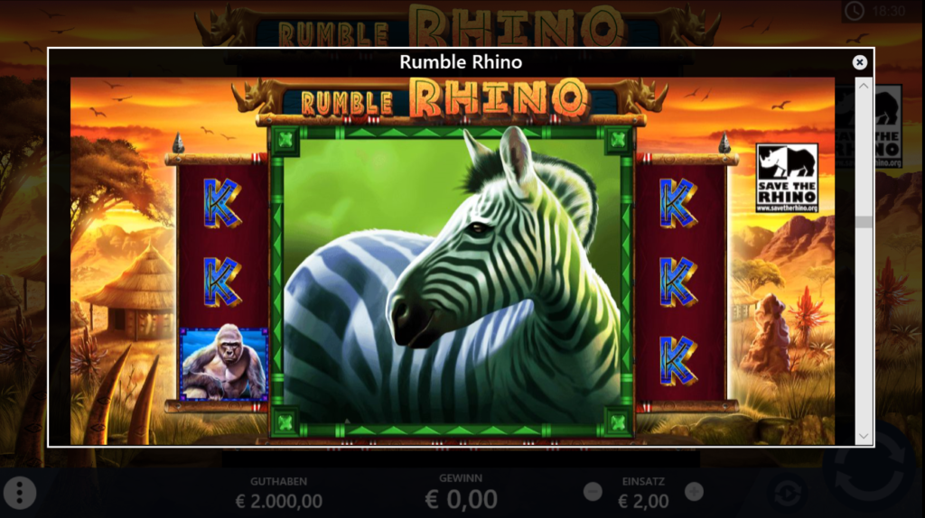 Rumble Rhino Mystery