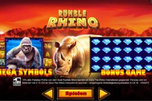 Rumble Rhino kostenlos spielen