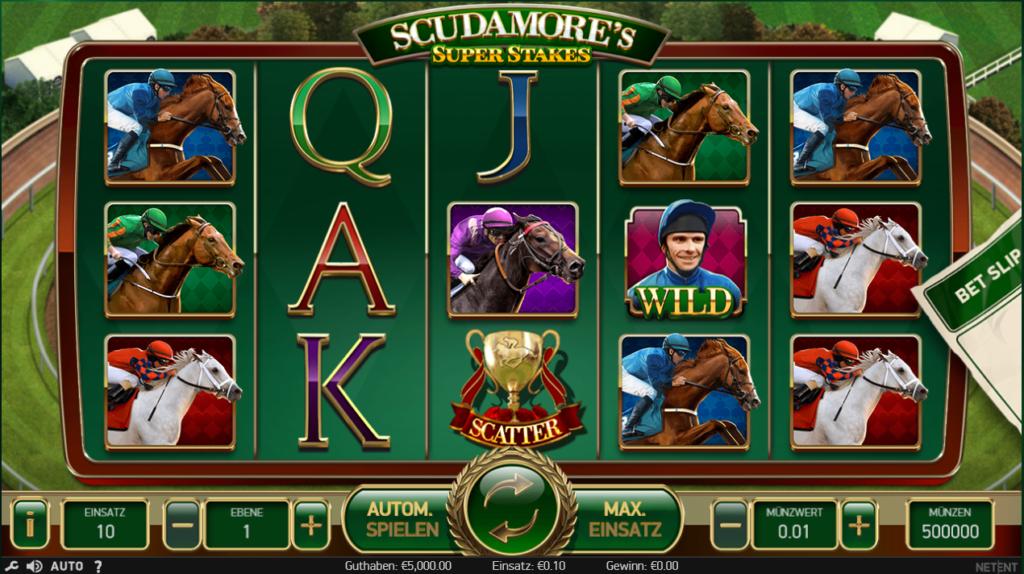 Scudamore´s super stakes kostenlos spielen