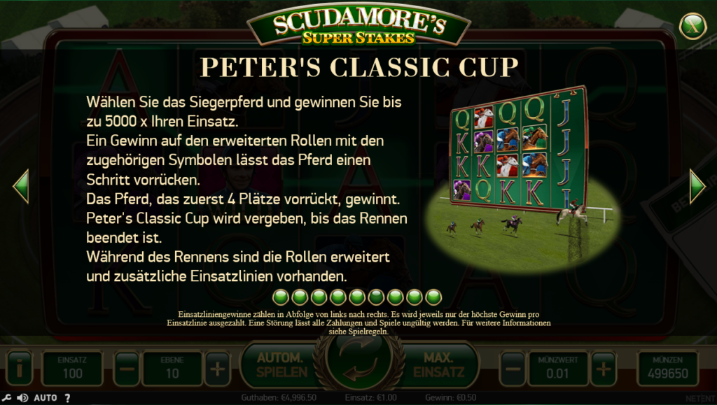 Scudamore's Peters classic cup