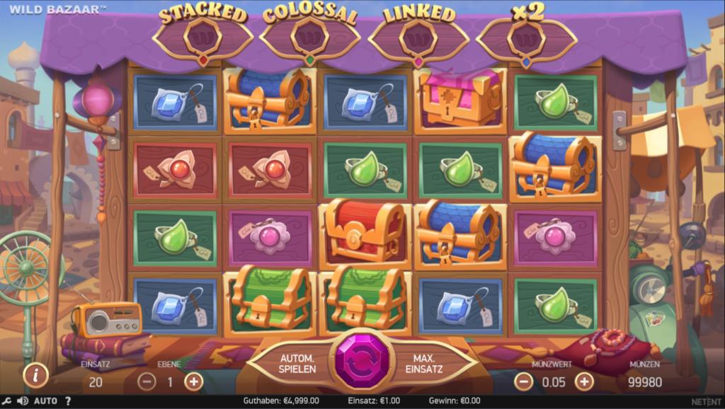 WIld Bazaar kostenlos spielen