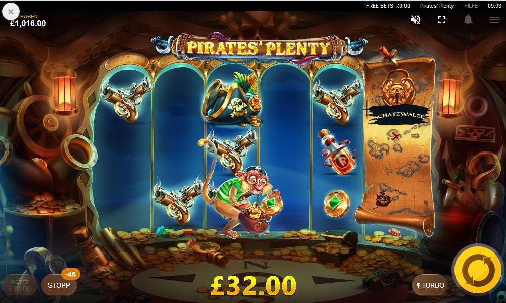 pirates Plenty affe