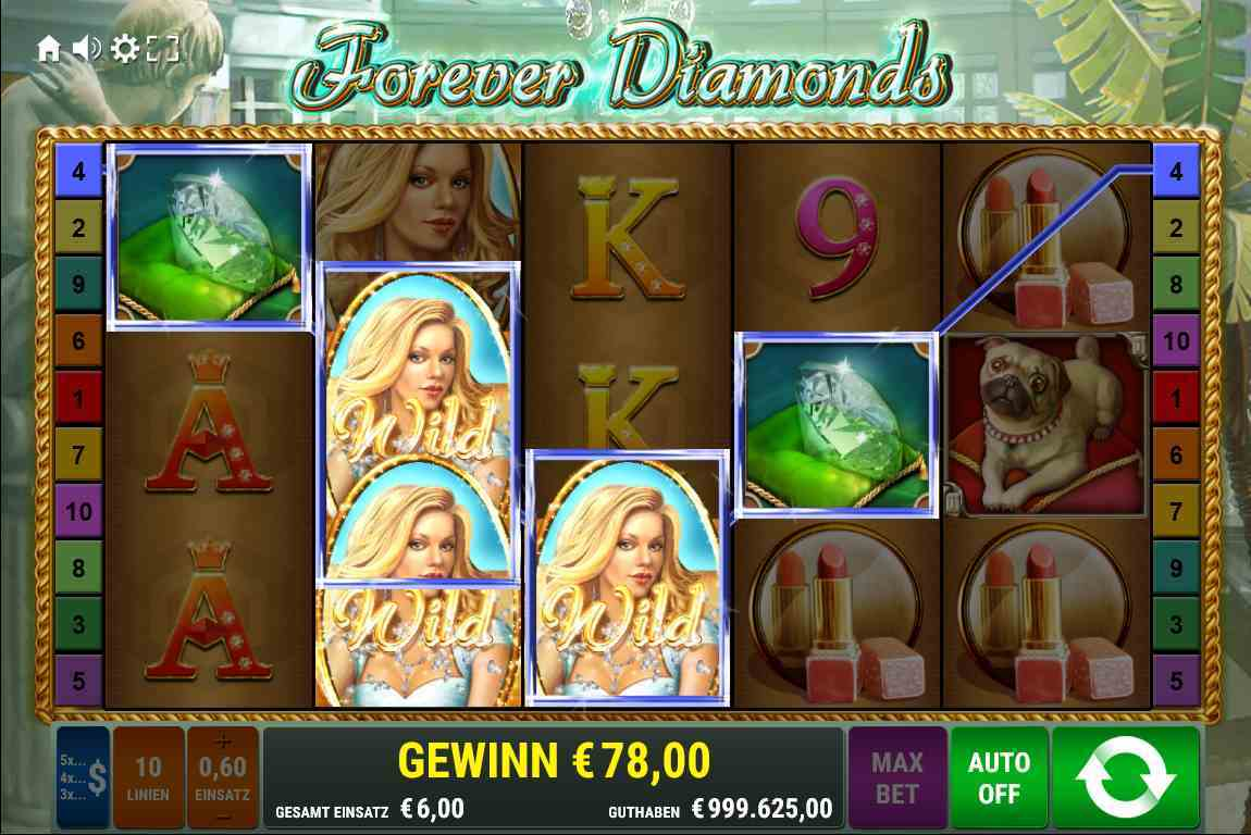 Forever Diamonds Wild
