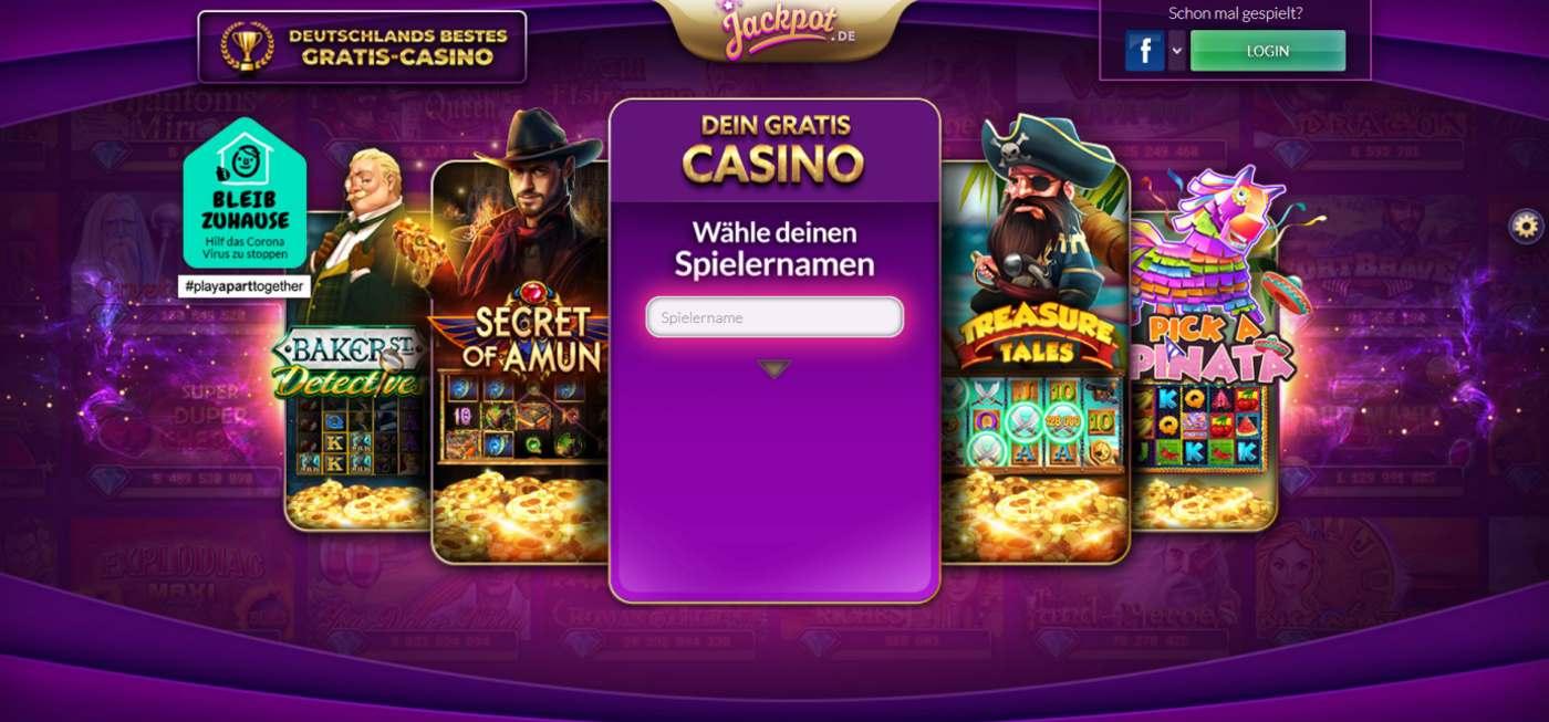 Jackpot de Online Casino 1