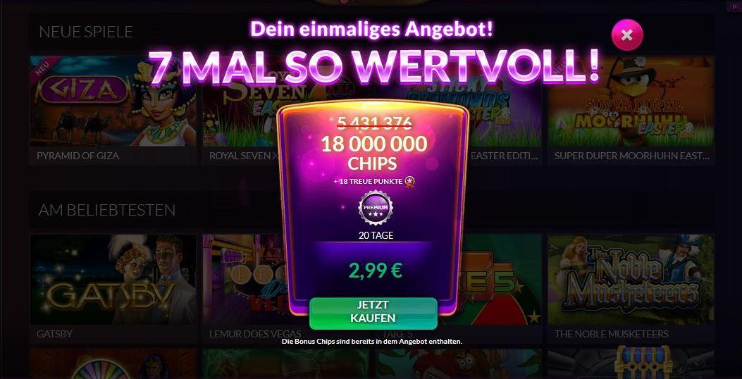 Jackpot.de Bonus Angebot