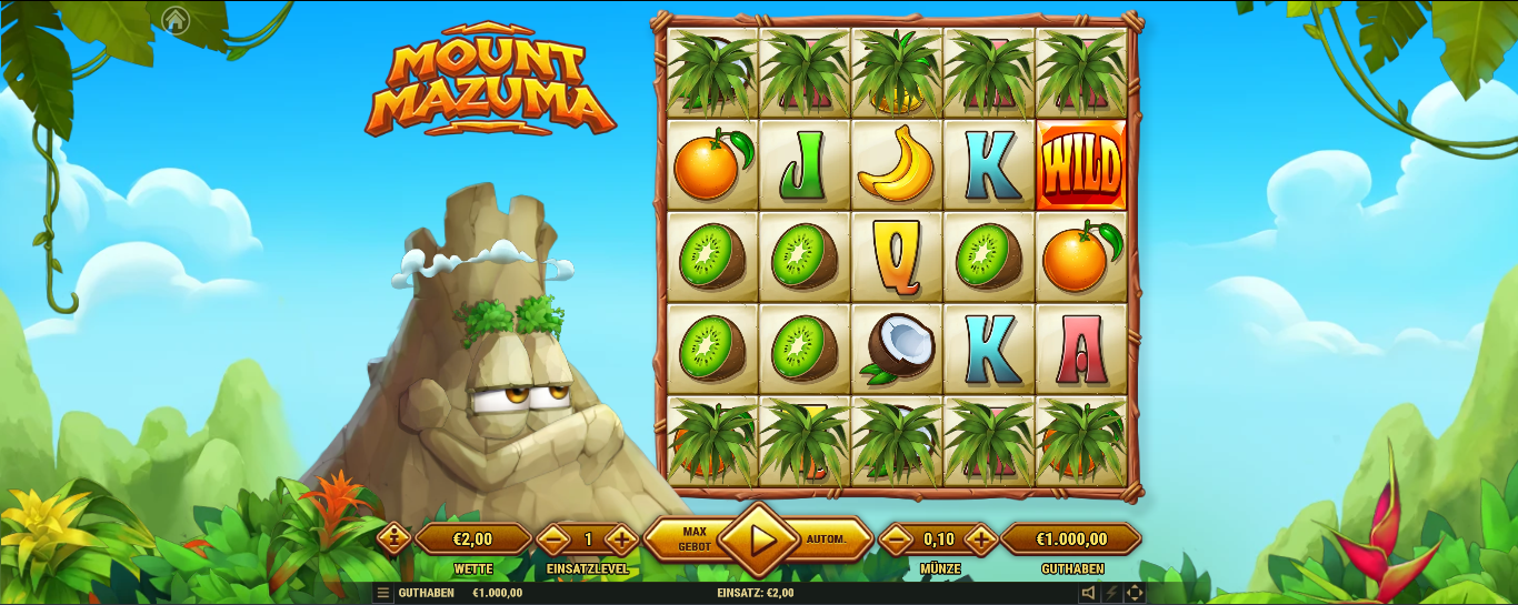 Mount Mazuma kostenlos spielen